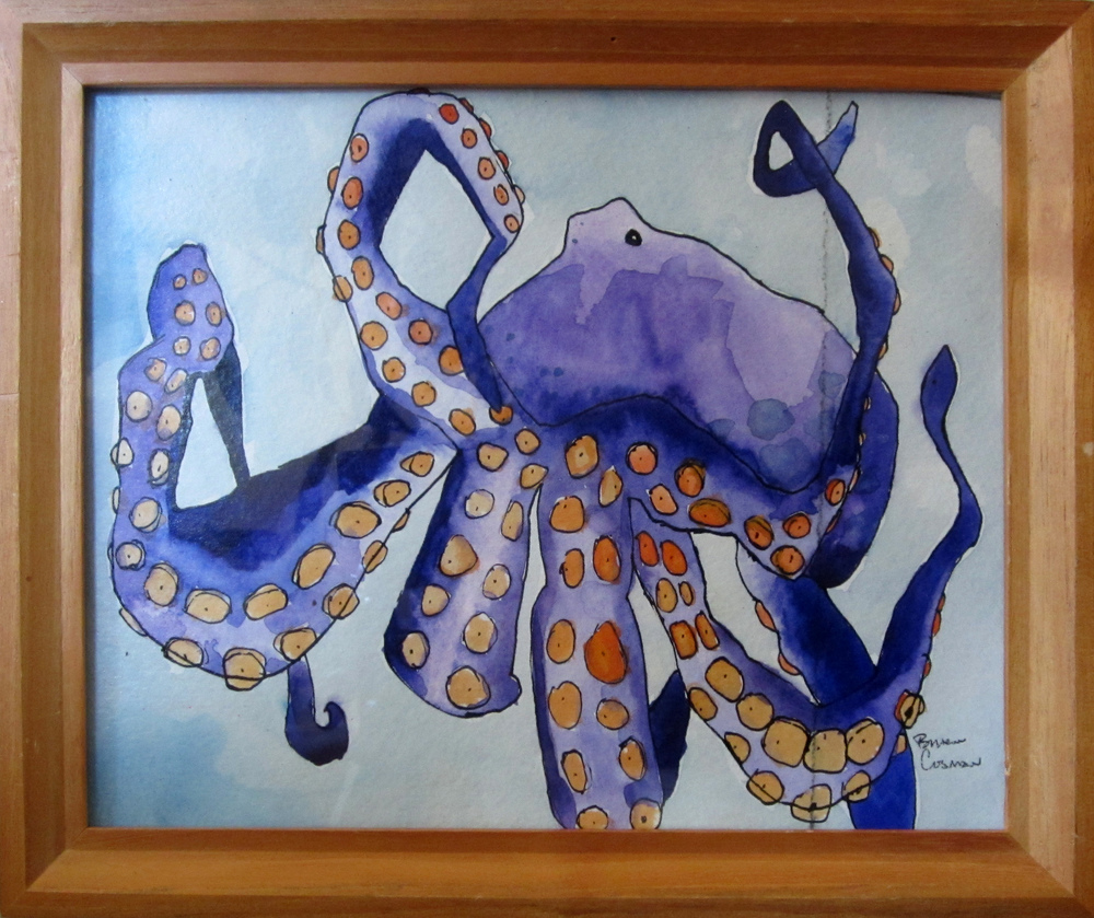 44: Purple Octopus Sold