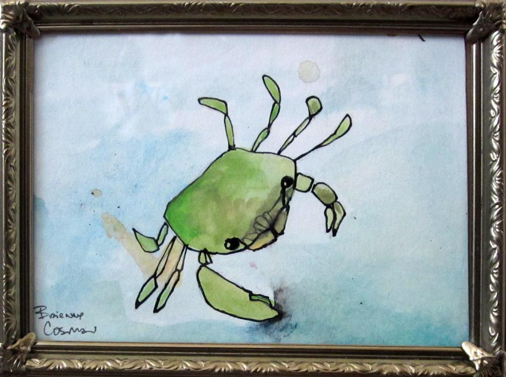 "46: Maine Crabs 5 x 7 """