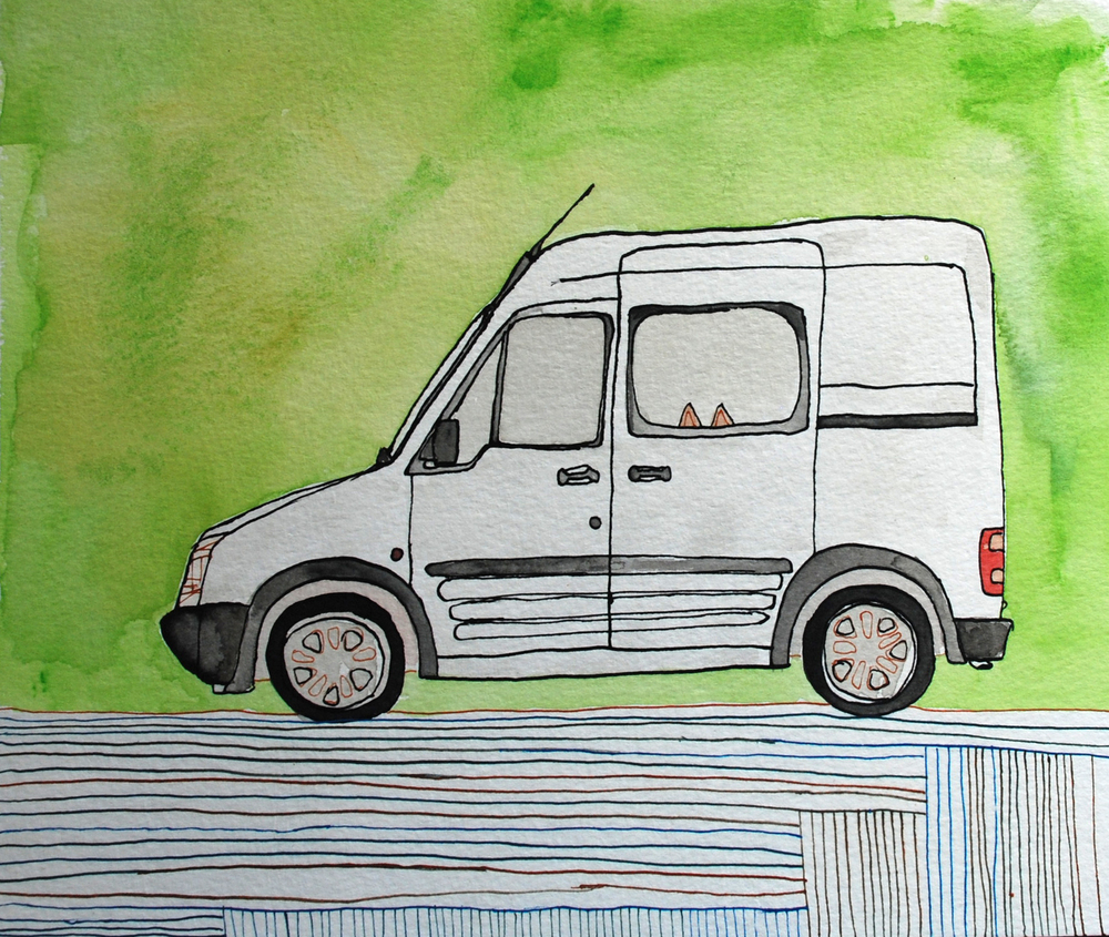 58: Ford Transit Connects- Sold