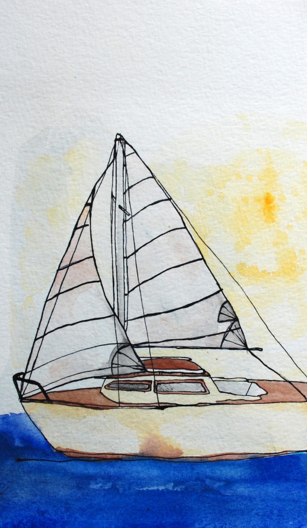 67: Catalina Sailboats 6 x 8 ""