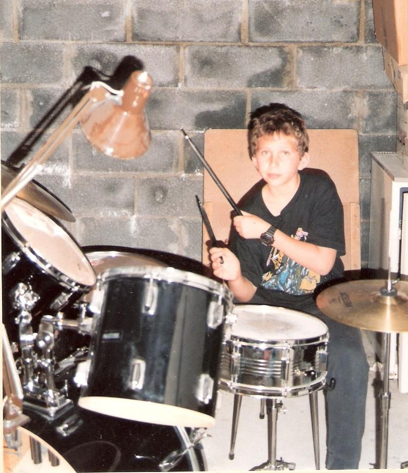 At my cousins basement, France 1993