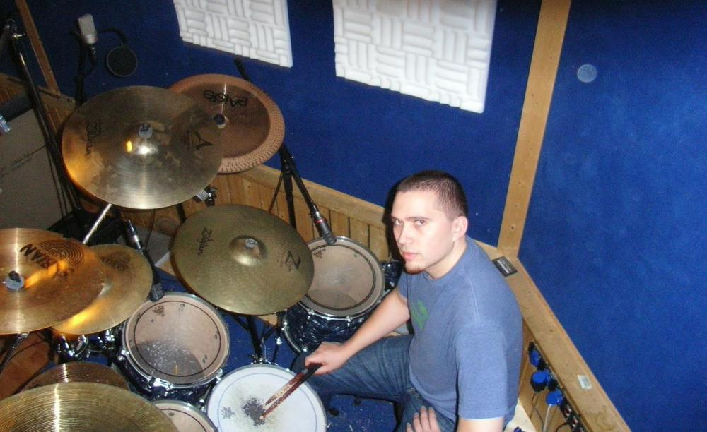 At Soundlodge Studio, Germany. 2006