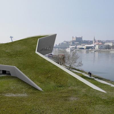 študentský projekt MÚZEUM SÚČASNÉHO UMENIA A ARCHITEKTÚRY