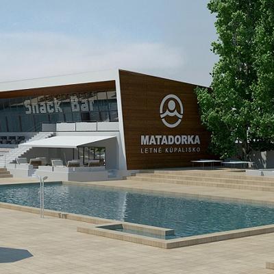 návrh na rekonštrukciu KÚPALISKO MATADORKA