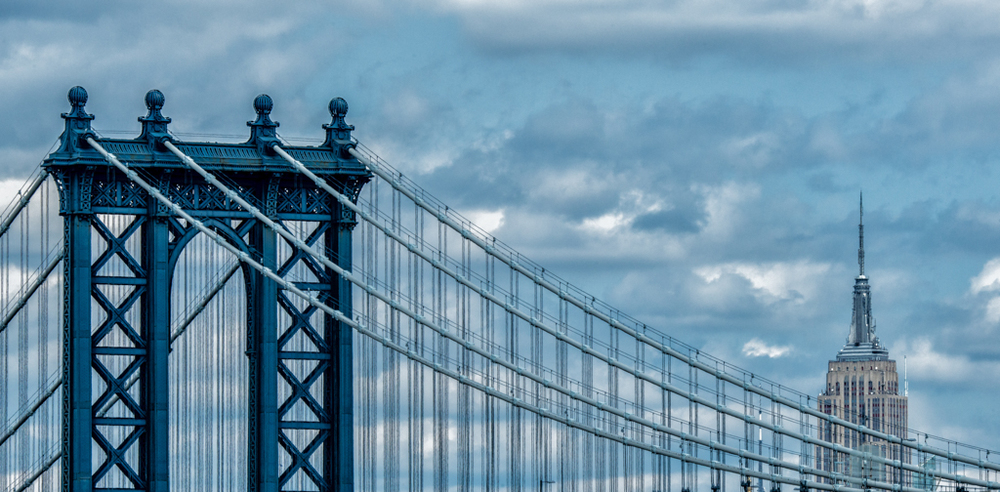 """Manhattan Bridge"" - New York City, NY  USA"