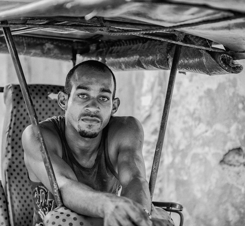 """""""Pedicab Driver"""" - Havana, Cuba"""
