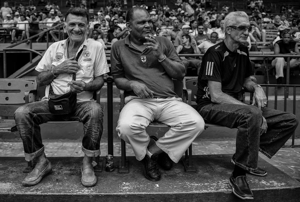 """""""Three Amigos"""" - Havana, Cuba"""