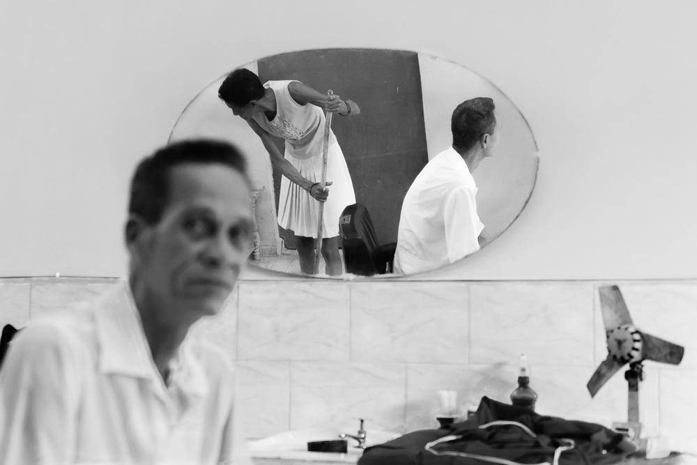 """Cleaning Up"" - Matanzas, Cuba"