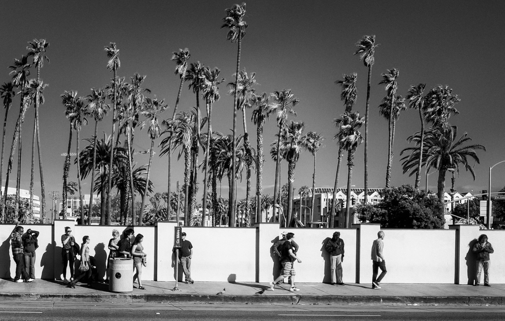 """Bus Stop"" - Santa Monica, California, USA"