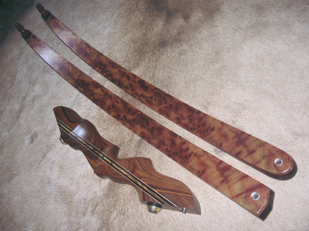 Walnut Dym Riser- Camphor Burl Limbs