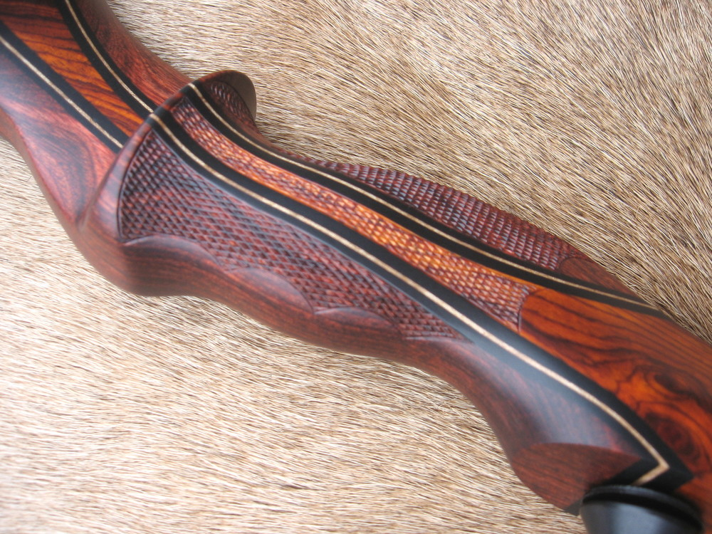 Rosewood Dym Riser w/ Cocobolo Flare