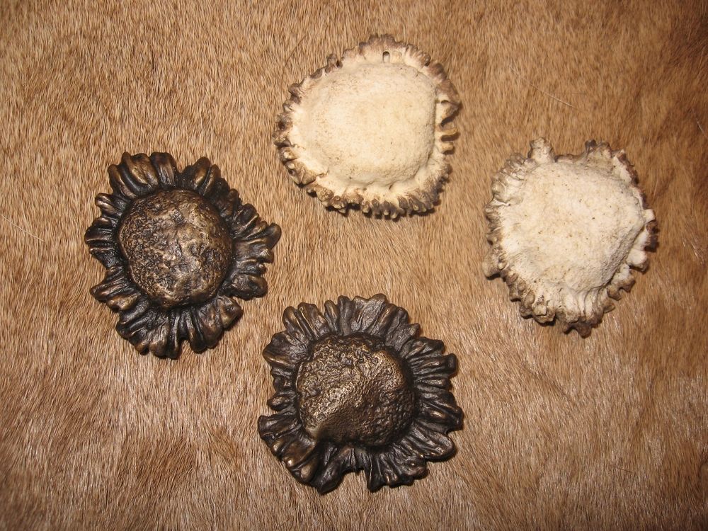 Real Antler and Cast Bronze Knobs  (additional options)