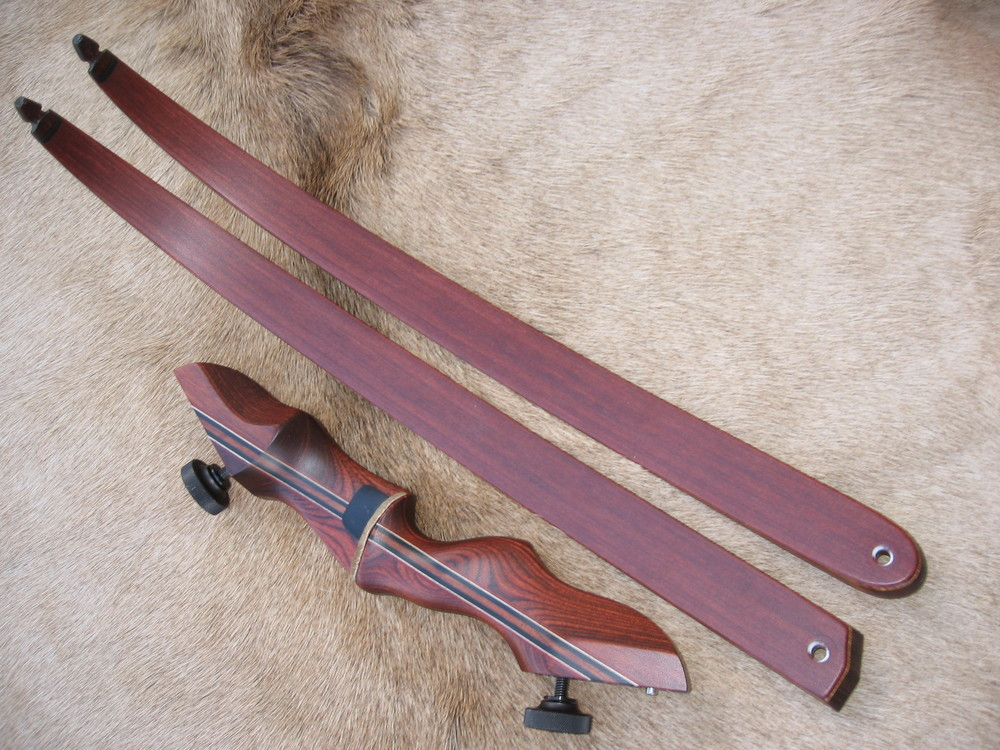 Rosewood Dym Riser- Rswd actionwood limbs
