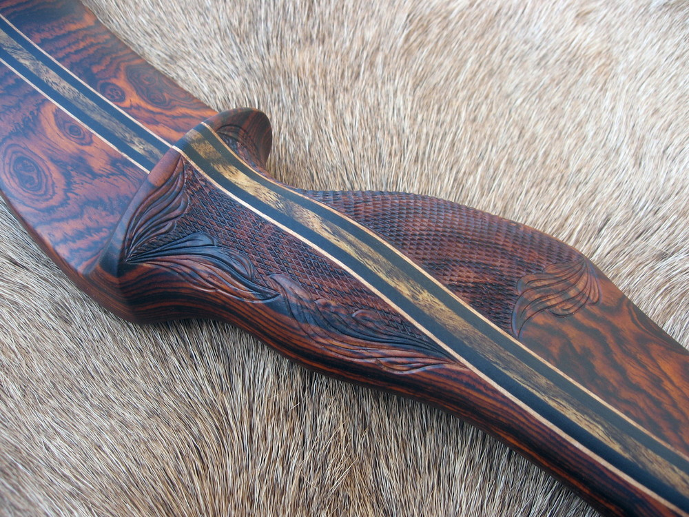 cocobolo riser hand carving details.JPG