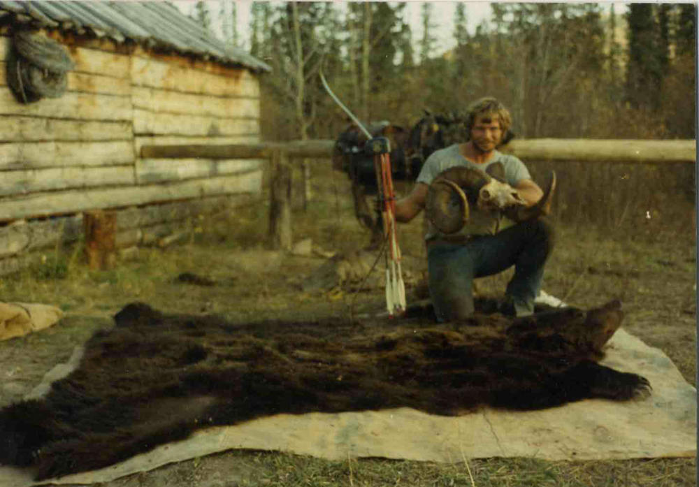 Paul Schafer with his first and only Silvertip taken back in 1974