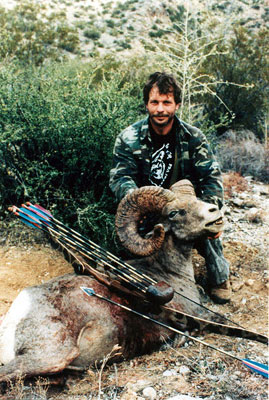 Paul Schafer's Grand Slam Desert Sheep