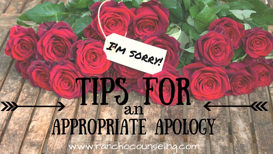 apologizing couples counseling