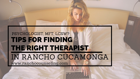 therapist in Rancho Cucamonga