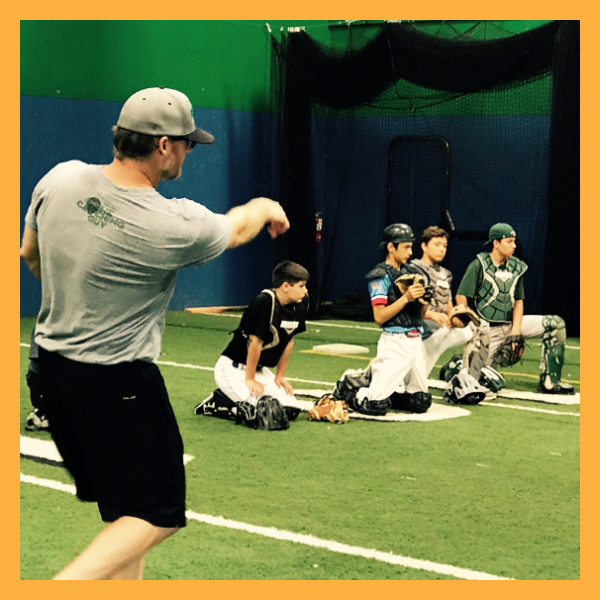 ELITE CATCHING INSTRUCTIONS   Led by Todd Coburn and other professional and ex-professional catchers