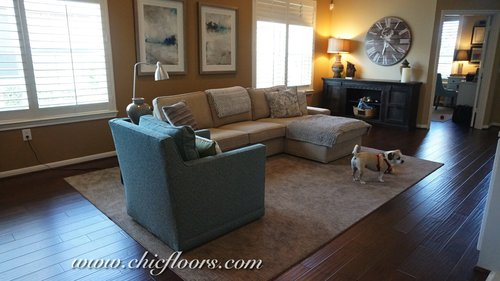 Chic Advice General Rules For Area Rugs Floors