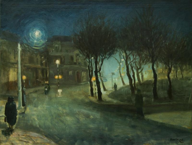 (C) LIM YEW KUAN - Winter Fall (1960)
