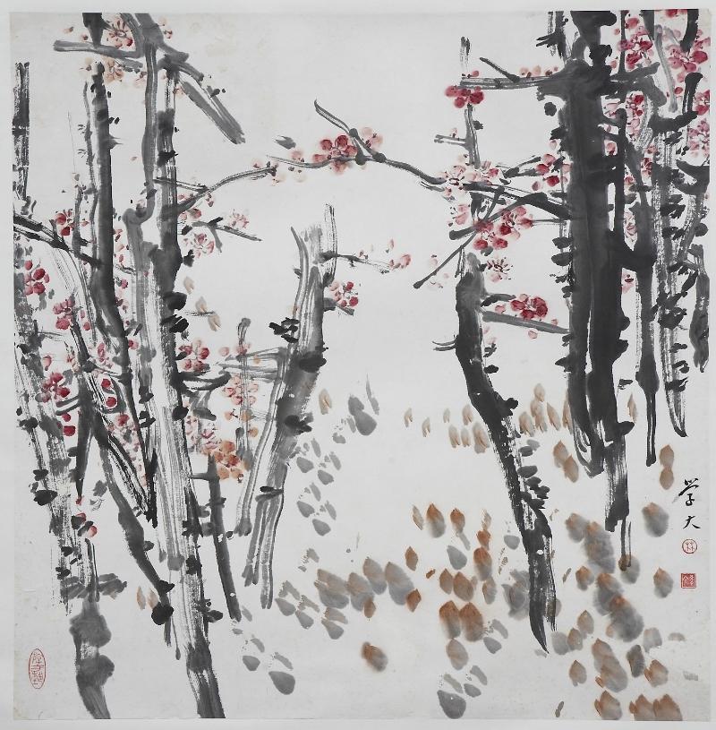 (C) LIM HAK TAI - Plum Blossoms  (Diese sind Symbole der Kraft und Aufrichtigkeit in der chinesischen Kultur)