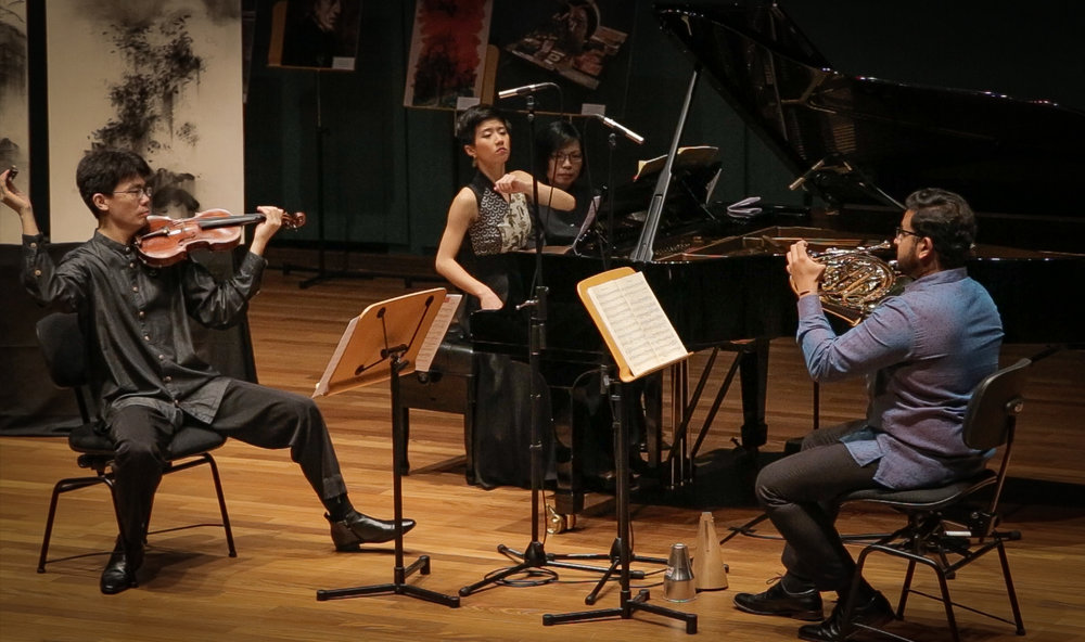 What! Another Exhibition? - Concert with Horn Trio, Singapore