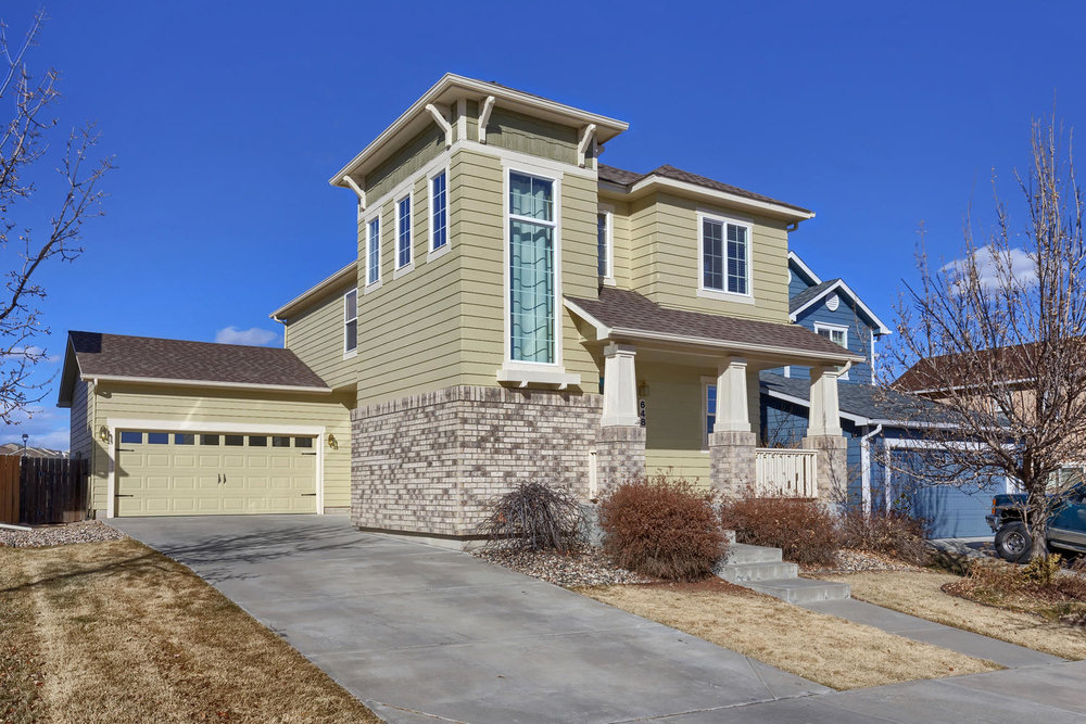 SOLD // $305,000  windom Peak boulevard  ridgeview at stetson hills