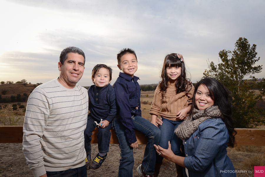 Garza Family Holiday photo shoot