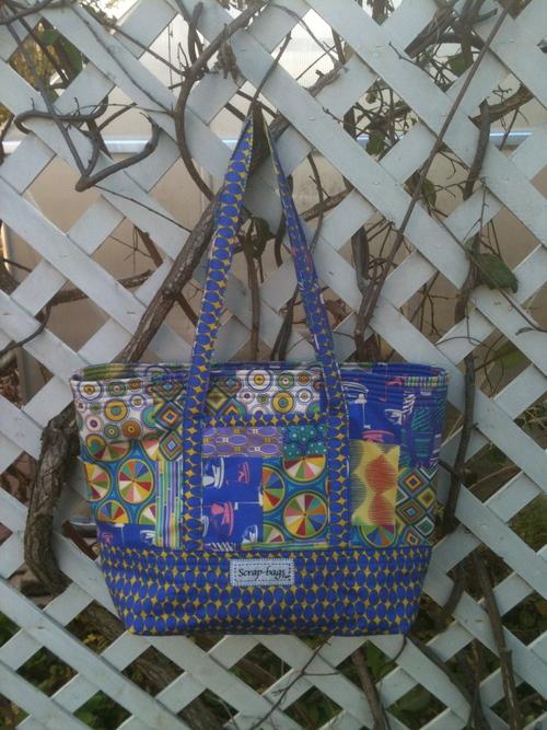 Scrap-bags™ Big Easy Tote Bag Downloadable Sewing Pattern — Jamie ...