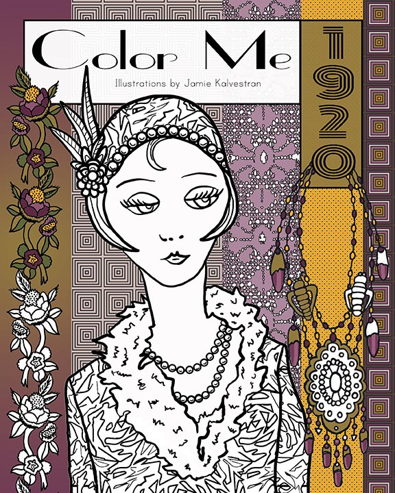 Coloring Book Cover - Design & Illustration