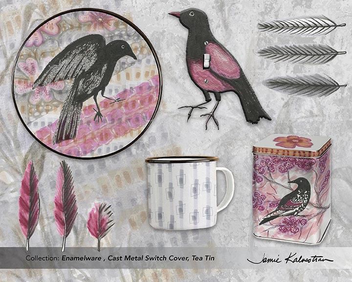 JAMIE_KALVESTRAN_BIRDS_Enamelware_Tea_Tin_Cast_Metal_Switch_Cover.jpg