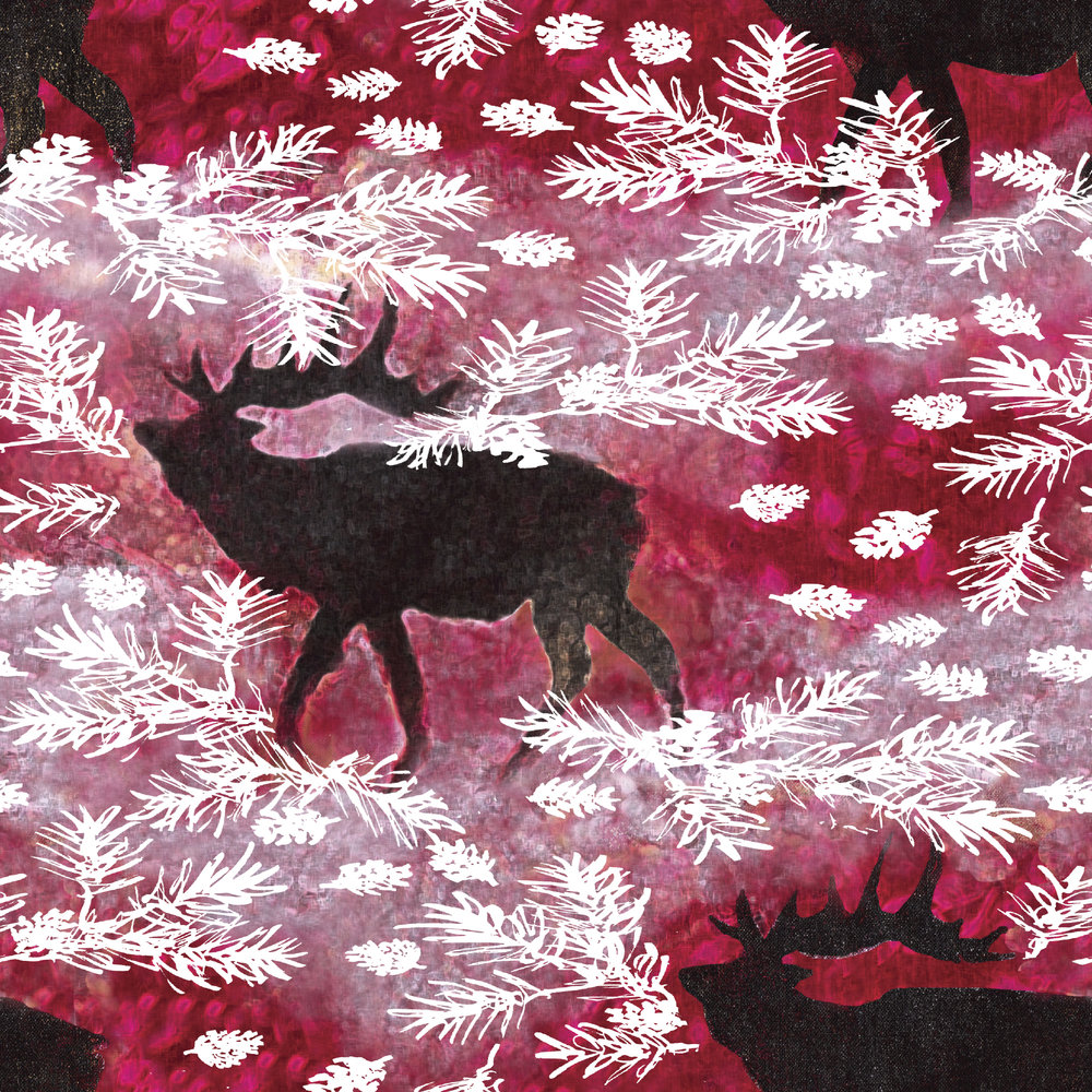 Woodland Holiday - Elk
