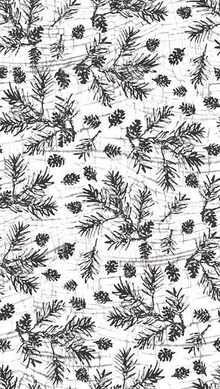Woodland Holiday - Pine Branches