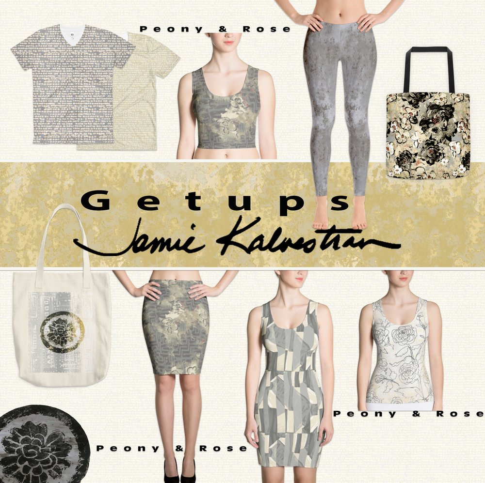 Shop RETAIL at GETUPS by Jamie Apparel and personal accessories