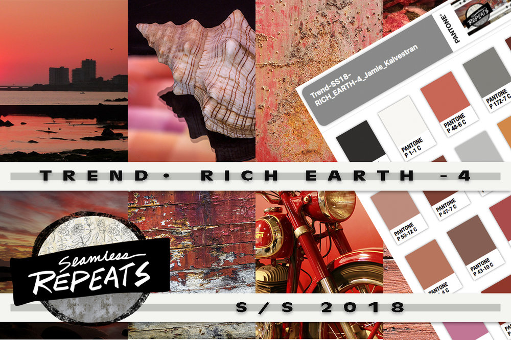 Creative Market Trend Color Palettes and Seamless Repeats