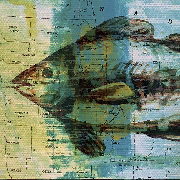 Archival Art Prints  Fish & Fauna -