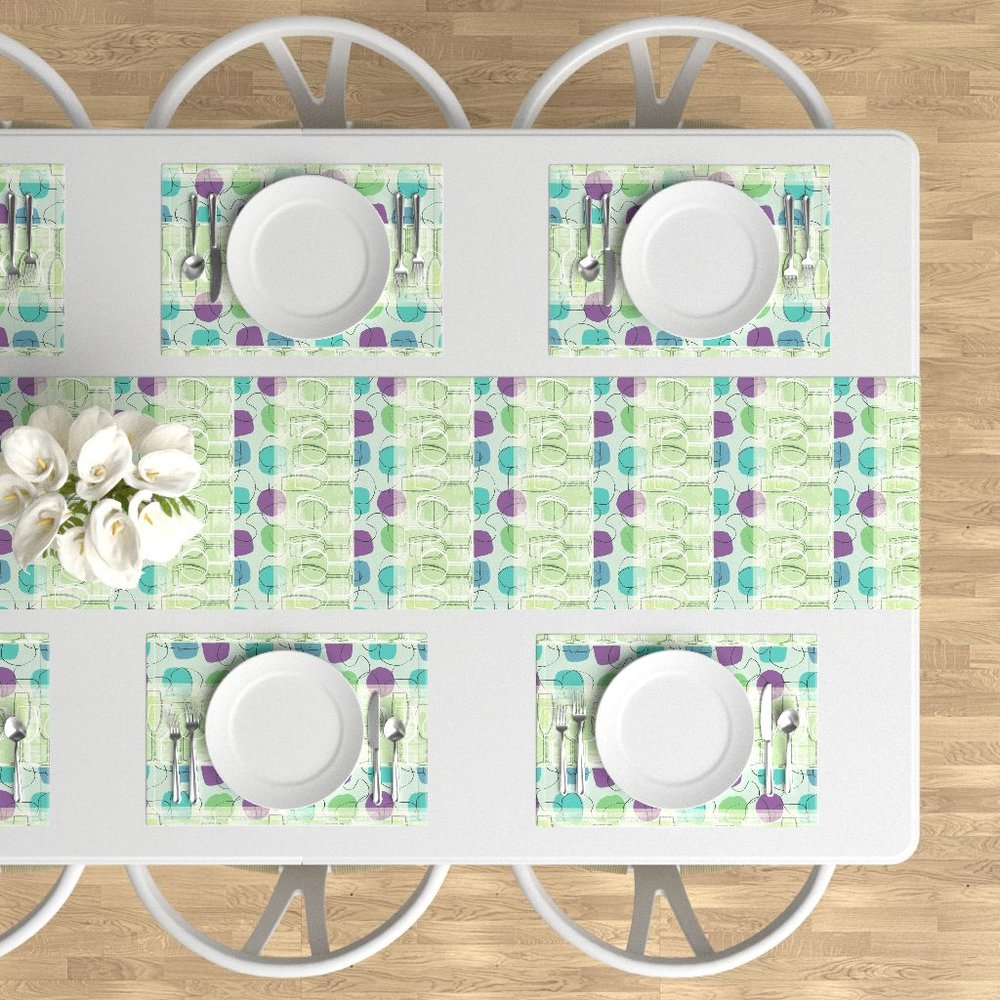 1950's Friday Night Placemats and Table Runner