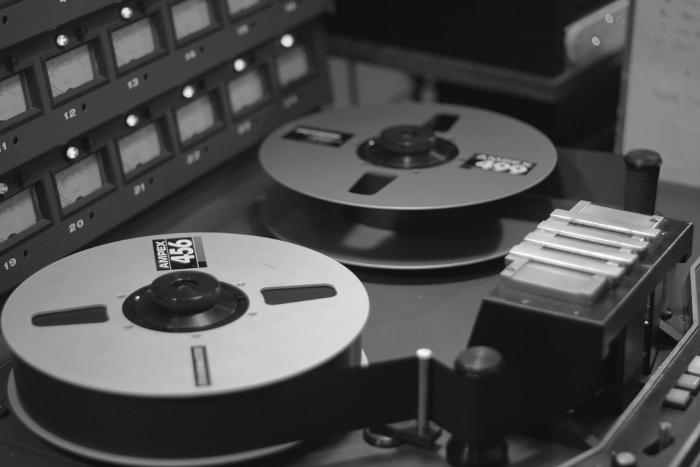 recording to tape at Welcome to 1979