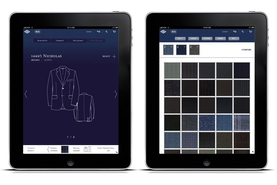 Model Details - Fabric Selector