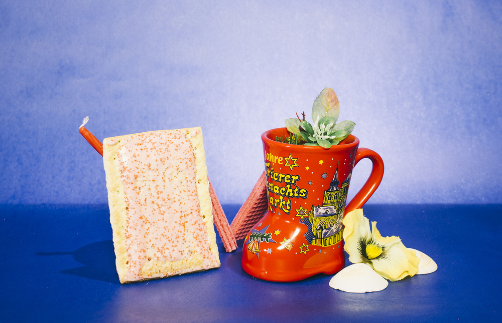 German winter festival mug with strawberry Pop-Tart  2014
