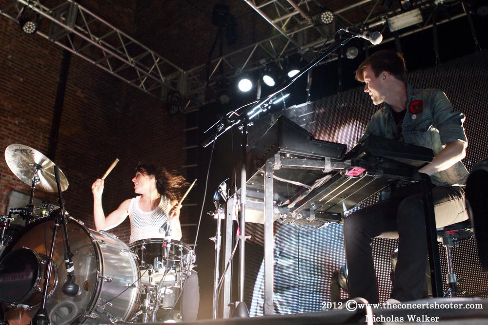 Matt and Kim at The Beacham in Orlando 10-13-2012 (2).JPG