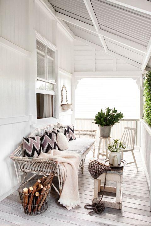 Kara Rosenlund's verandah {image via lark & linen}