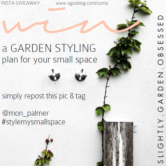 insta giveaway | slightly garden obsessed