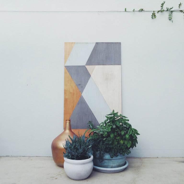 marine play & copper vase | slightly garden obsessed