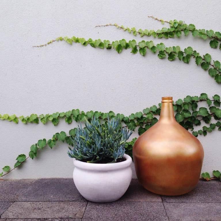 chalk sticks & copper vase | slightly garden obsessed