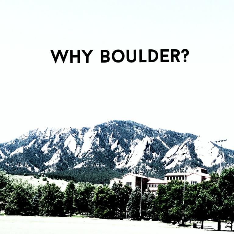 Boulder CO | sgoxblog