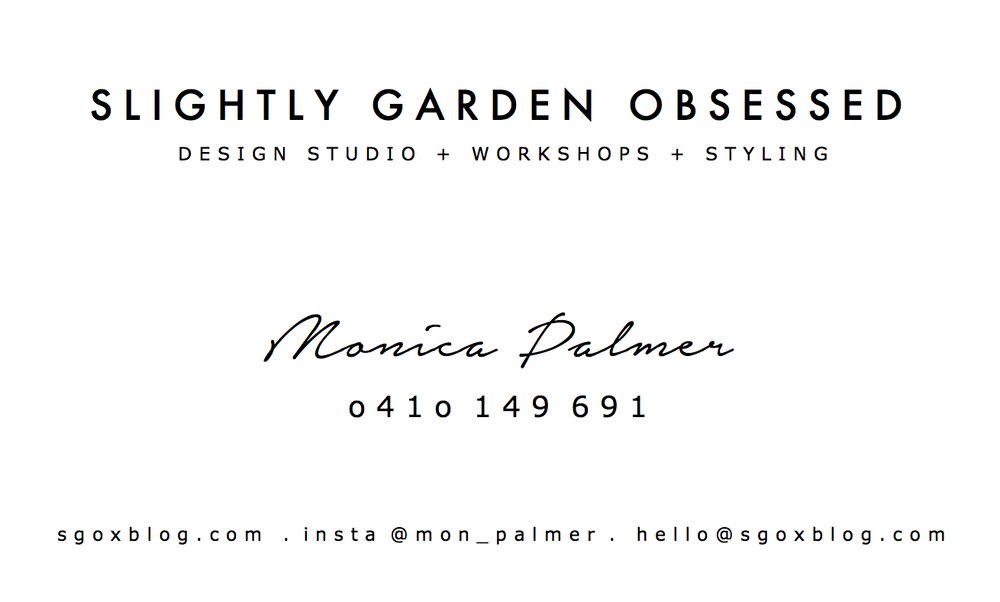 Signature | Slightly Garden Obsessed