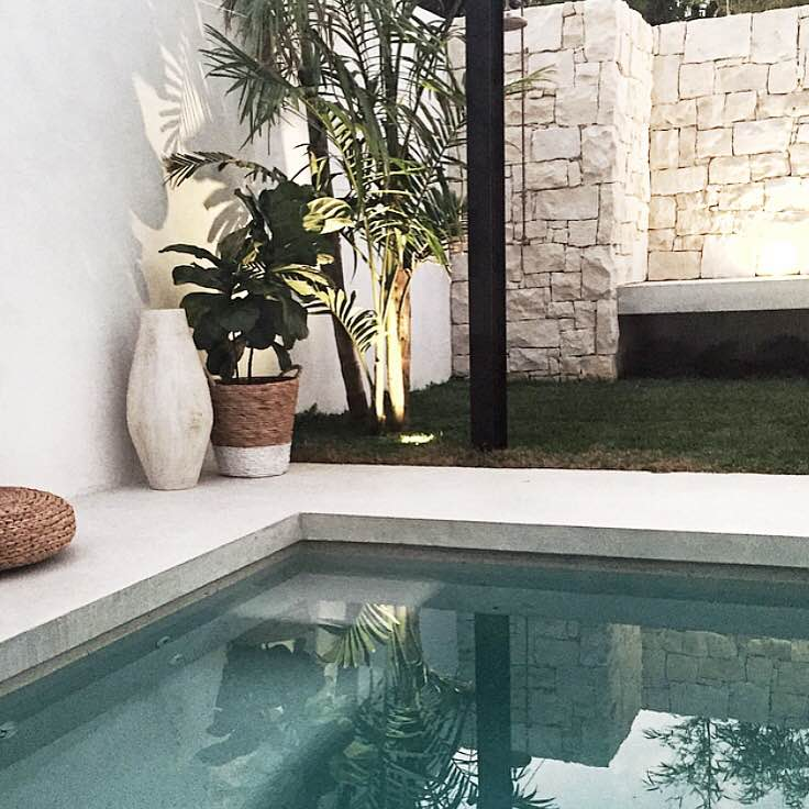 Pool Courtyard | Slightly Garden Obsessed