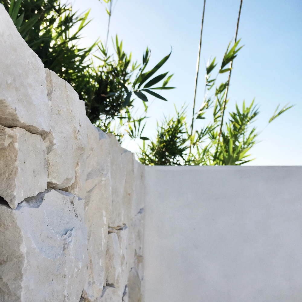 Stone Wall | Slightly Garden Obsessed